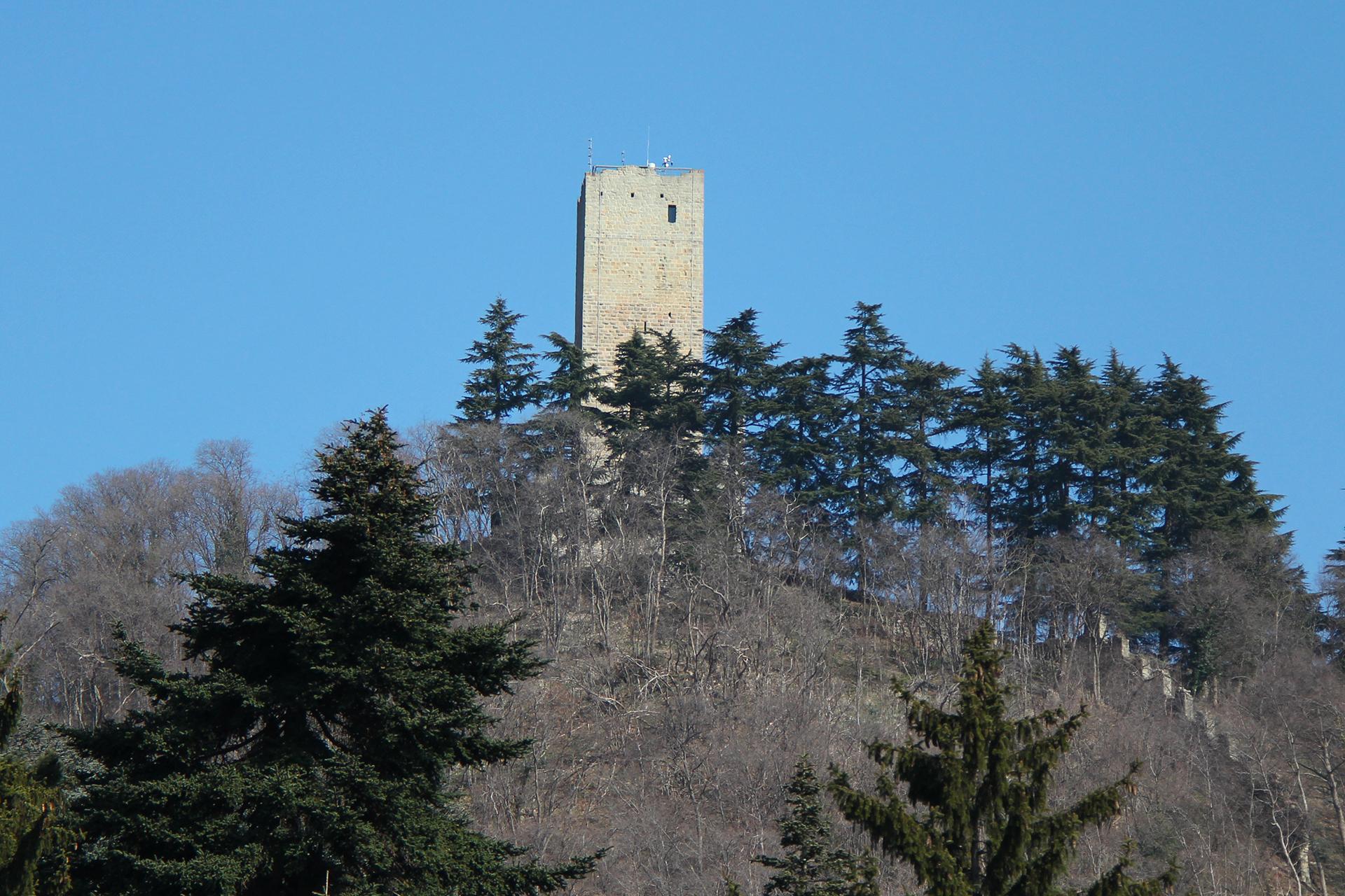 Castello Baradello Comocity It